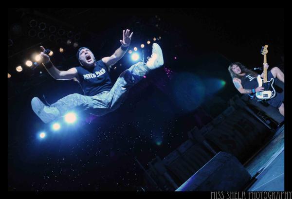 Iron Maiden @ DTE Energy 7.17.2010